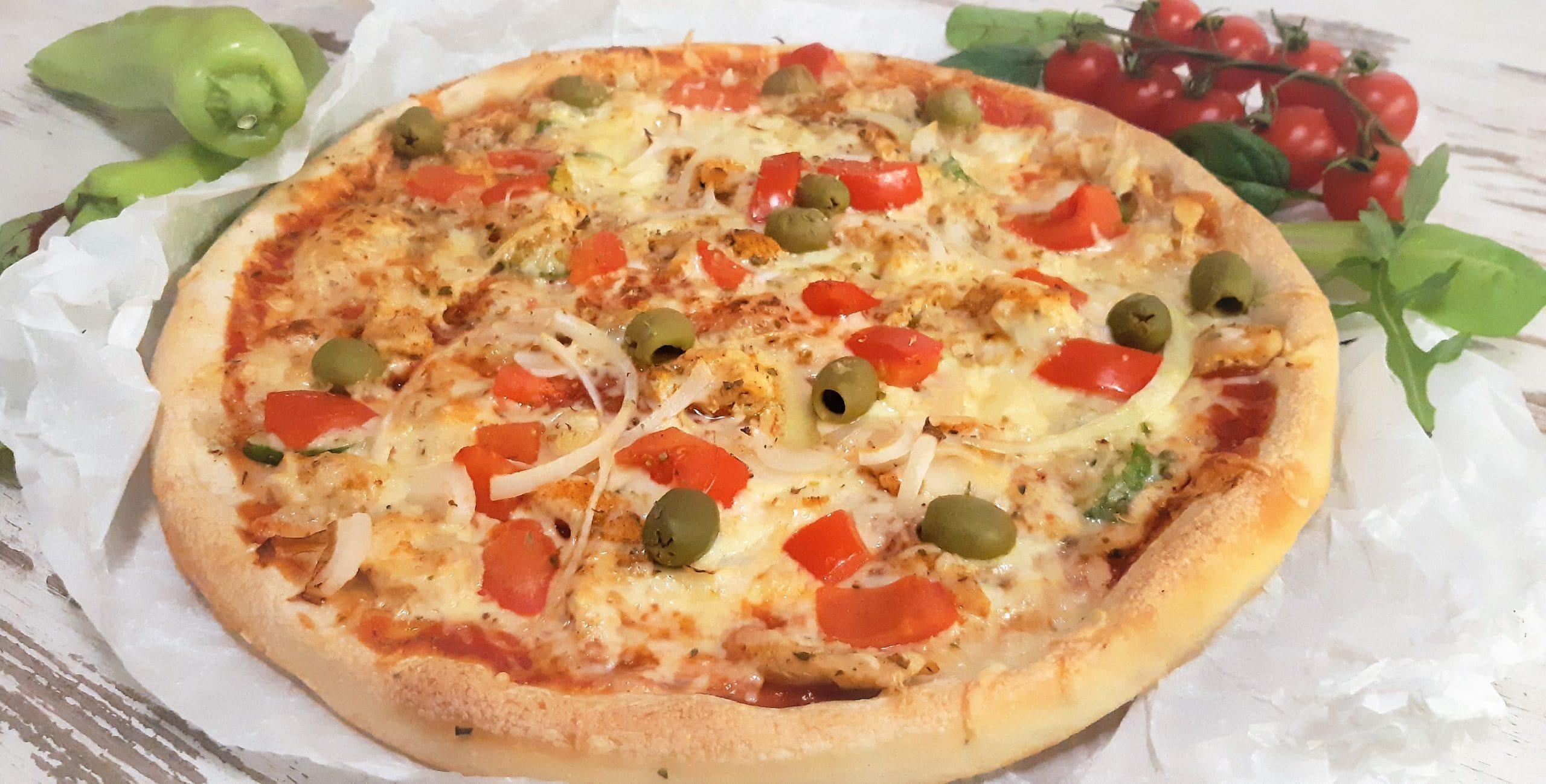 Gyrosos pizza