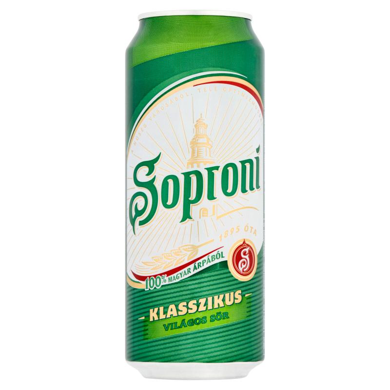 Soproni-Klasszikus-világos-sör-4,5%-0,5-l-doboz-full