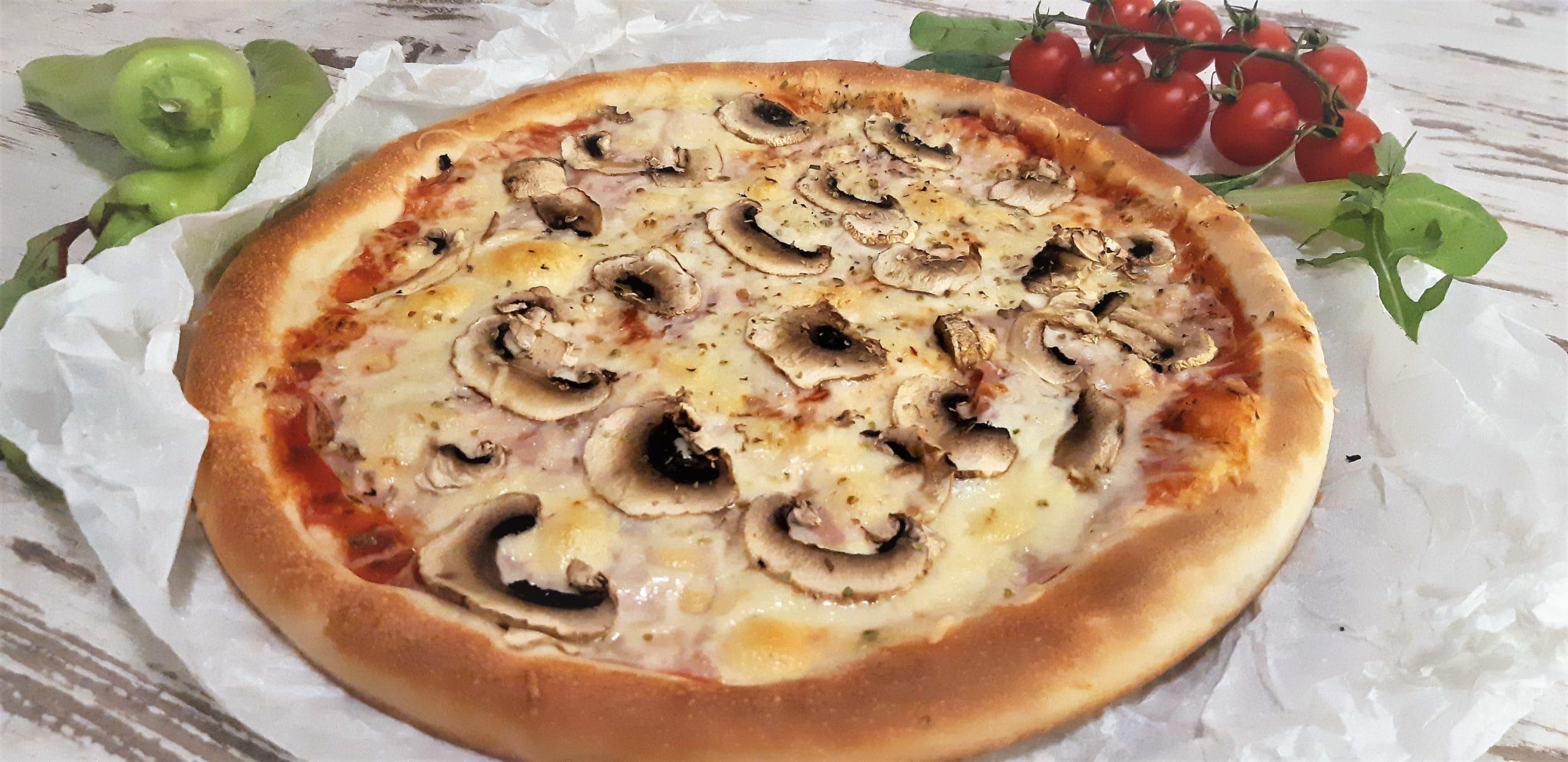 sonka gomba pizza