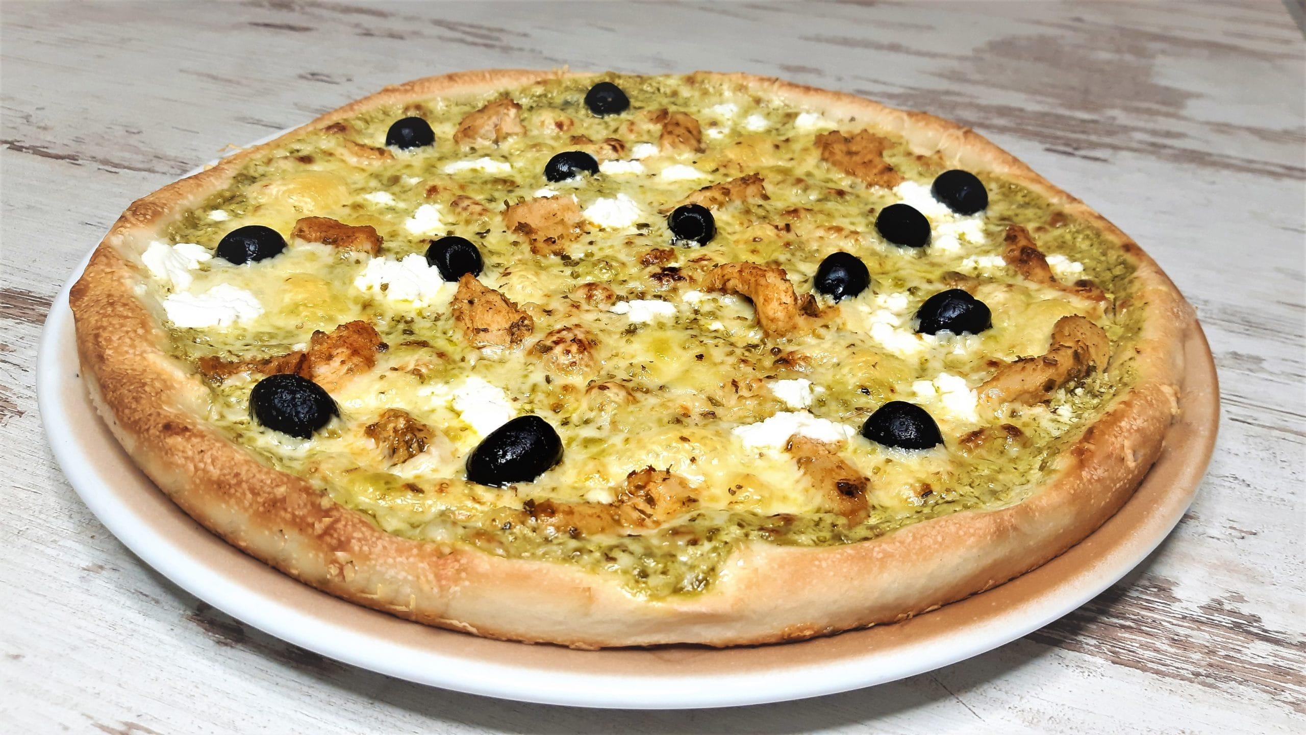 Pestos pizza